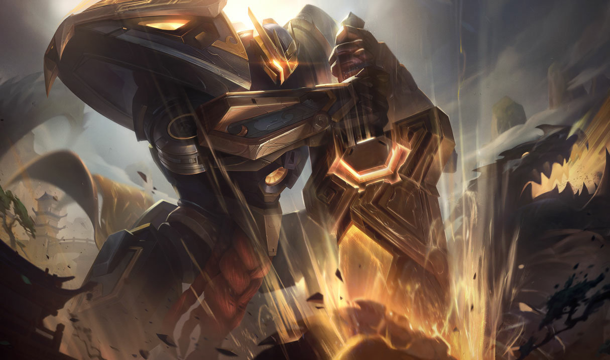 Mecha Kingdoms Garen Prestige Edition