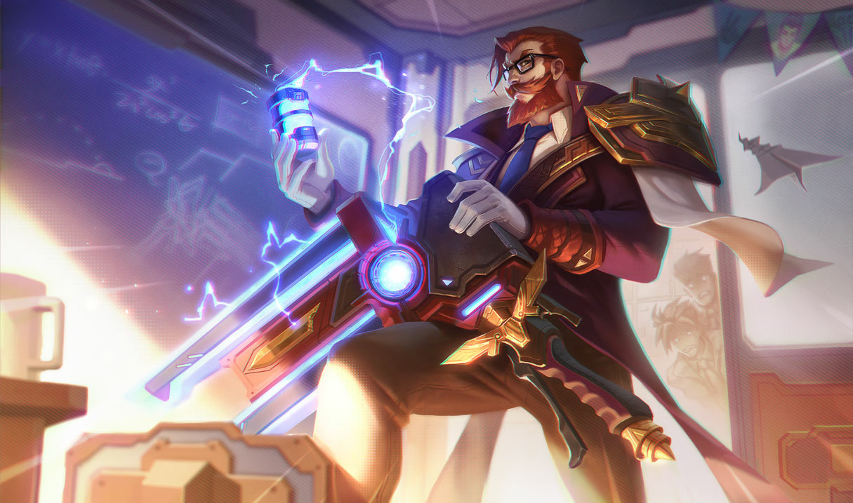 Battle Professor Graves