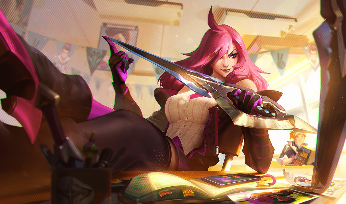 Battle Academia Katarina