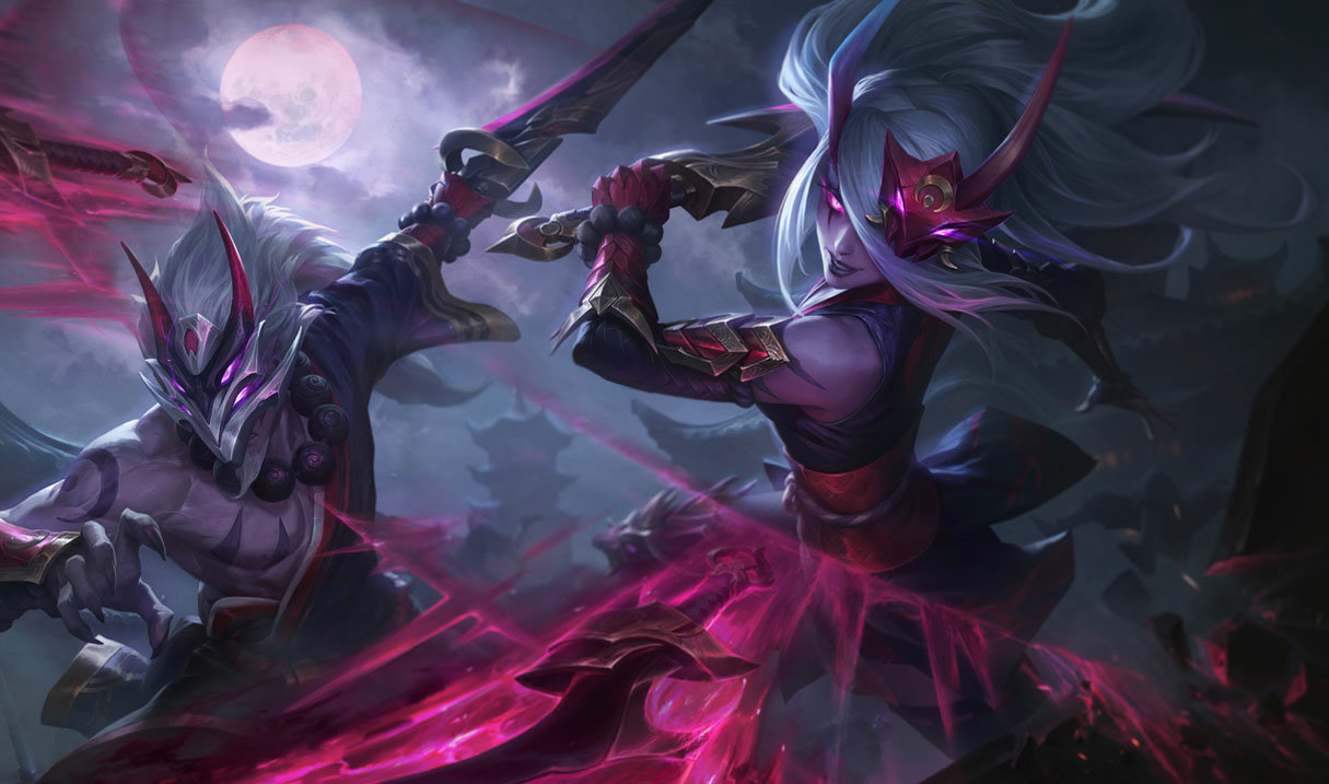 Katarina The Sinister Blade League Of Legends