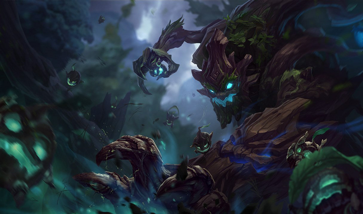 Maokai, top lane champion
