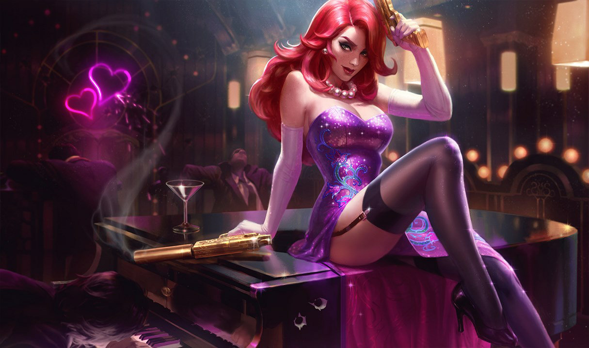 Secret Agent Miss Fortune