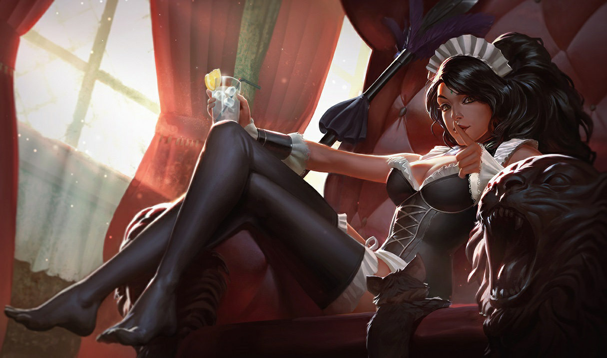 French Maid Nidalee