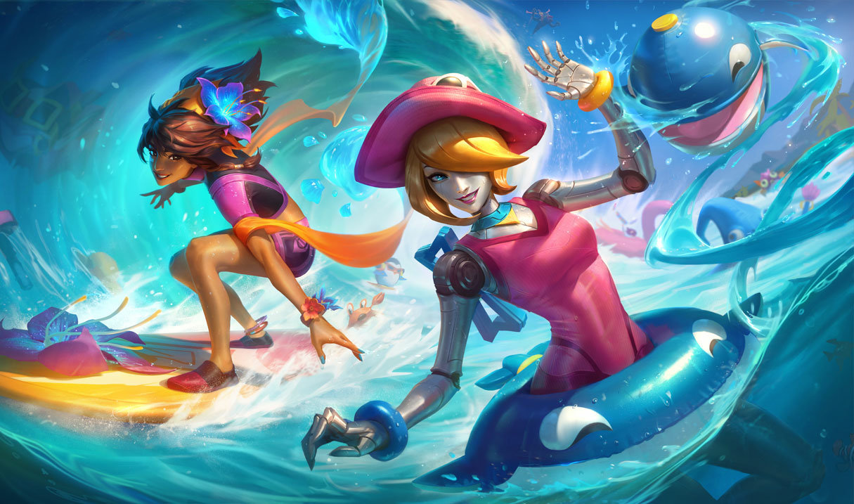 Pool Party Orianna