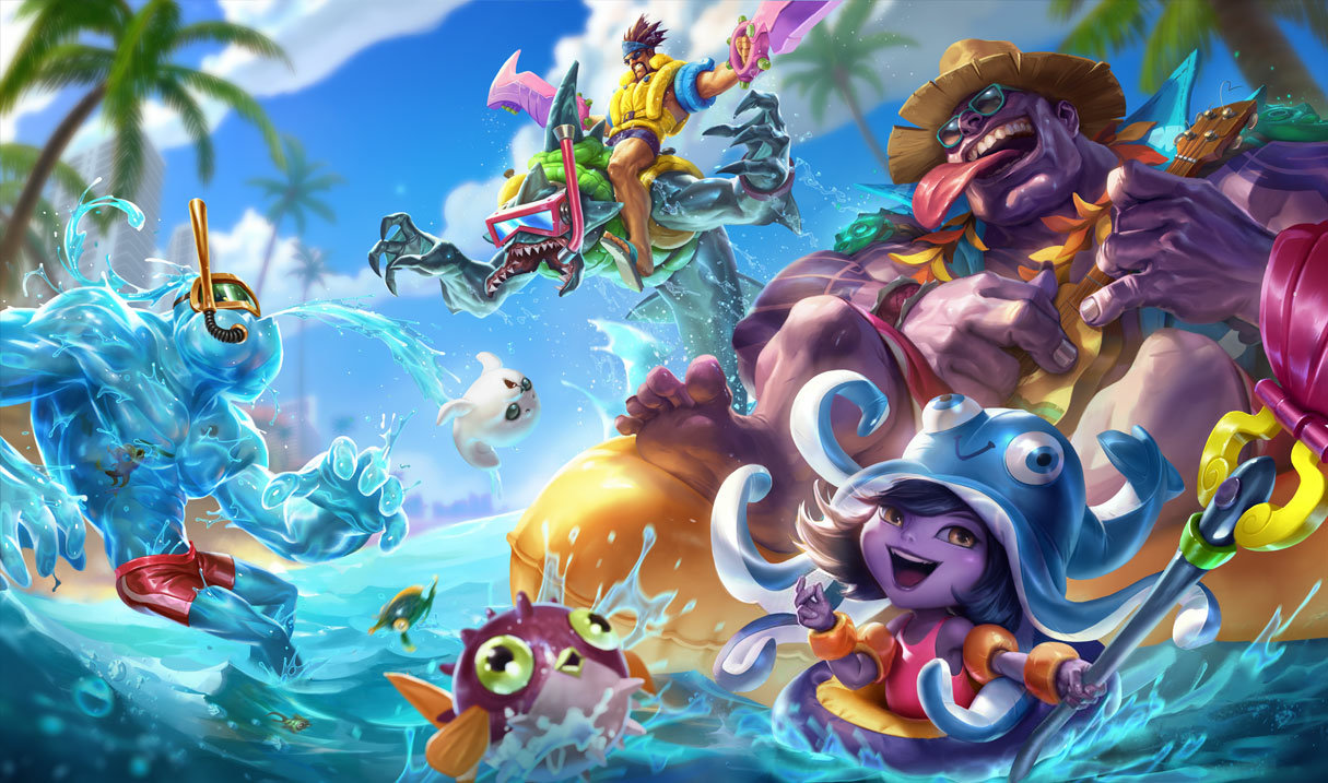 Pool Party Rek'Sai