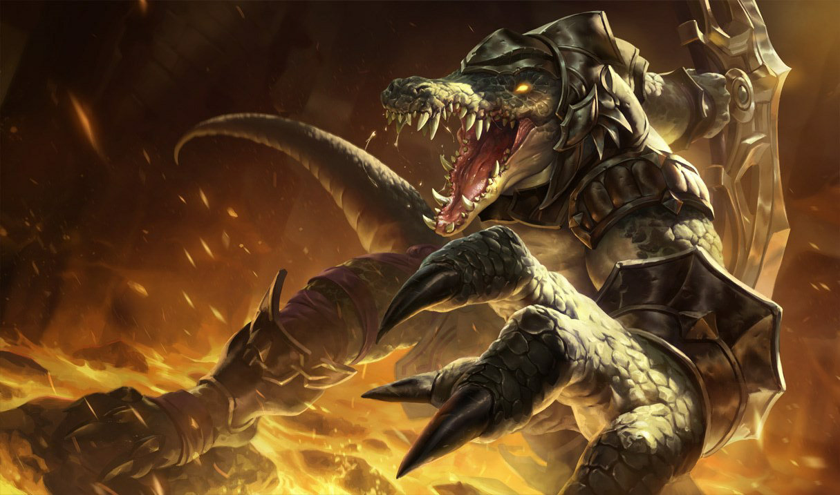 Renekton, top lane champion