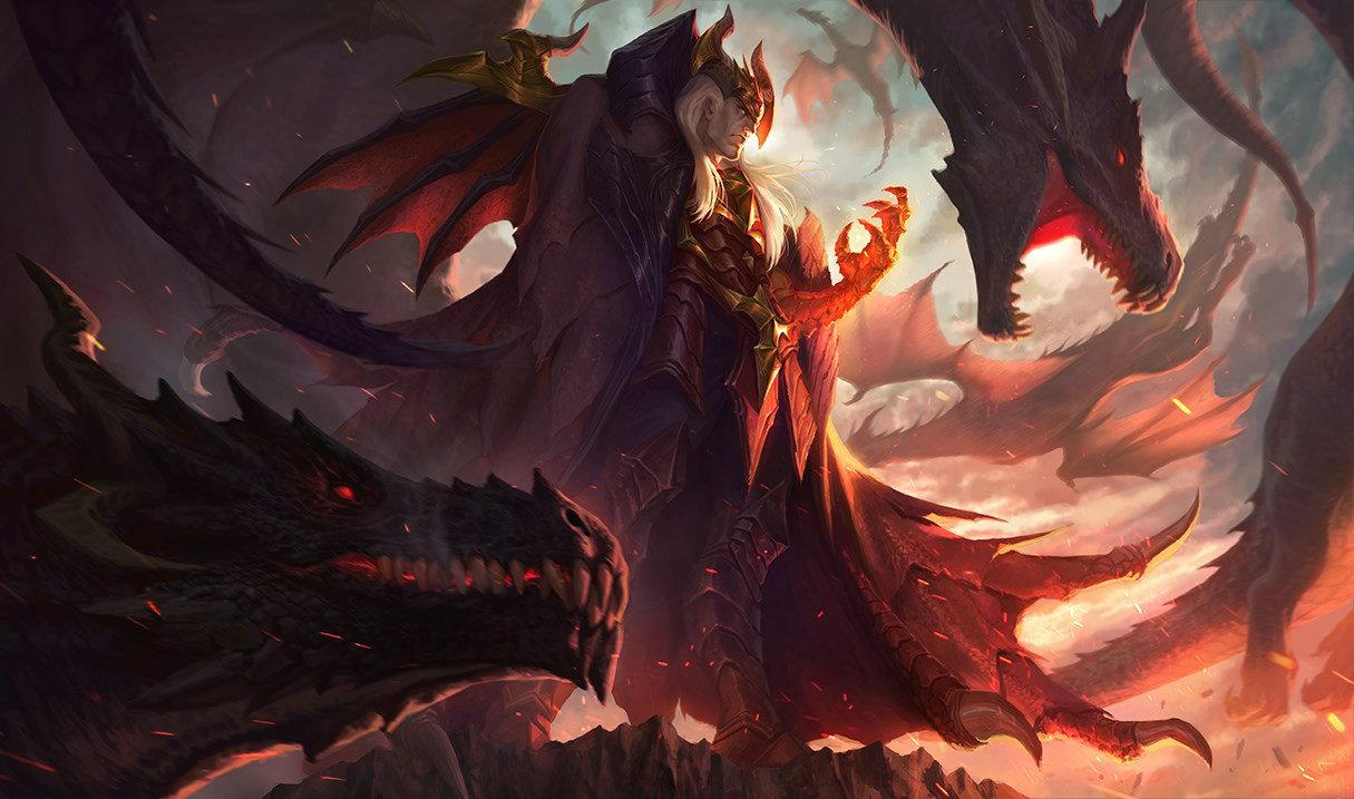 Повелитель драконов Свейн, Повелитель драконов Свейн