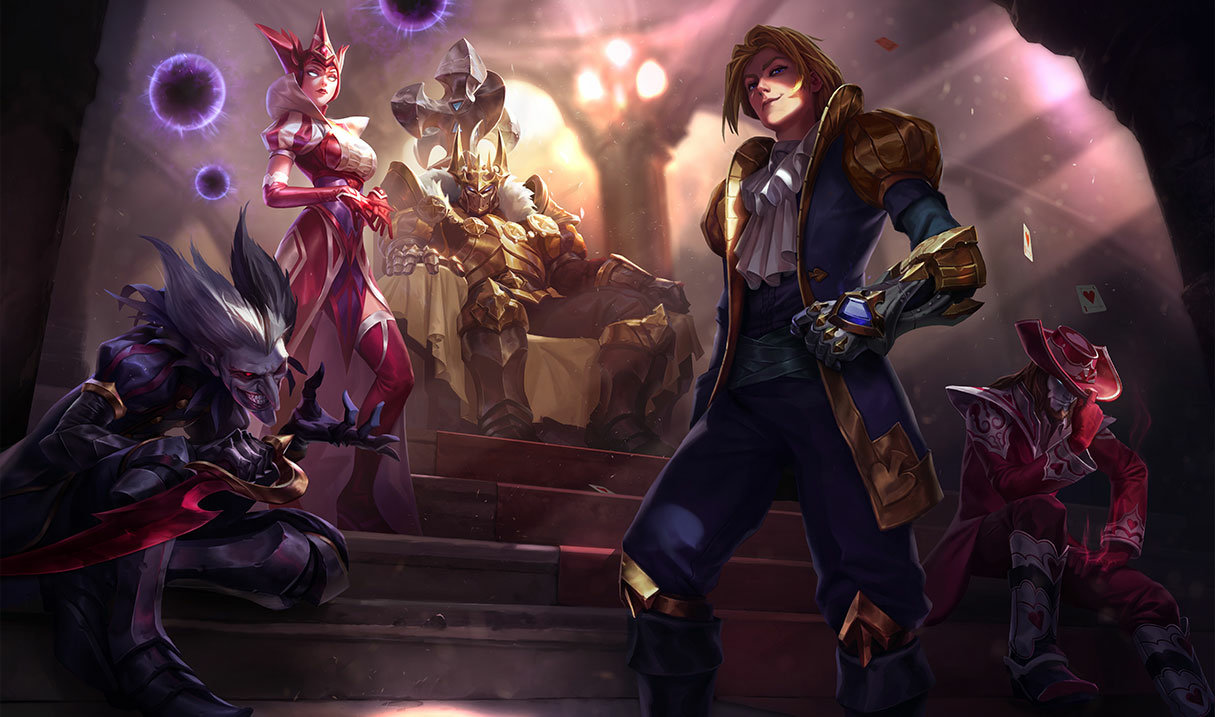 Twisted Fate Sota de Corazones