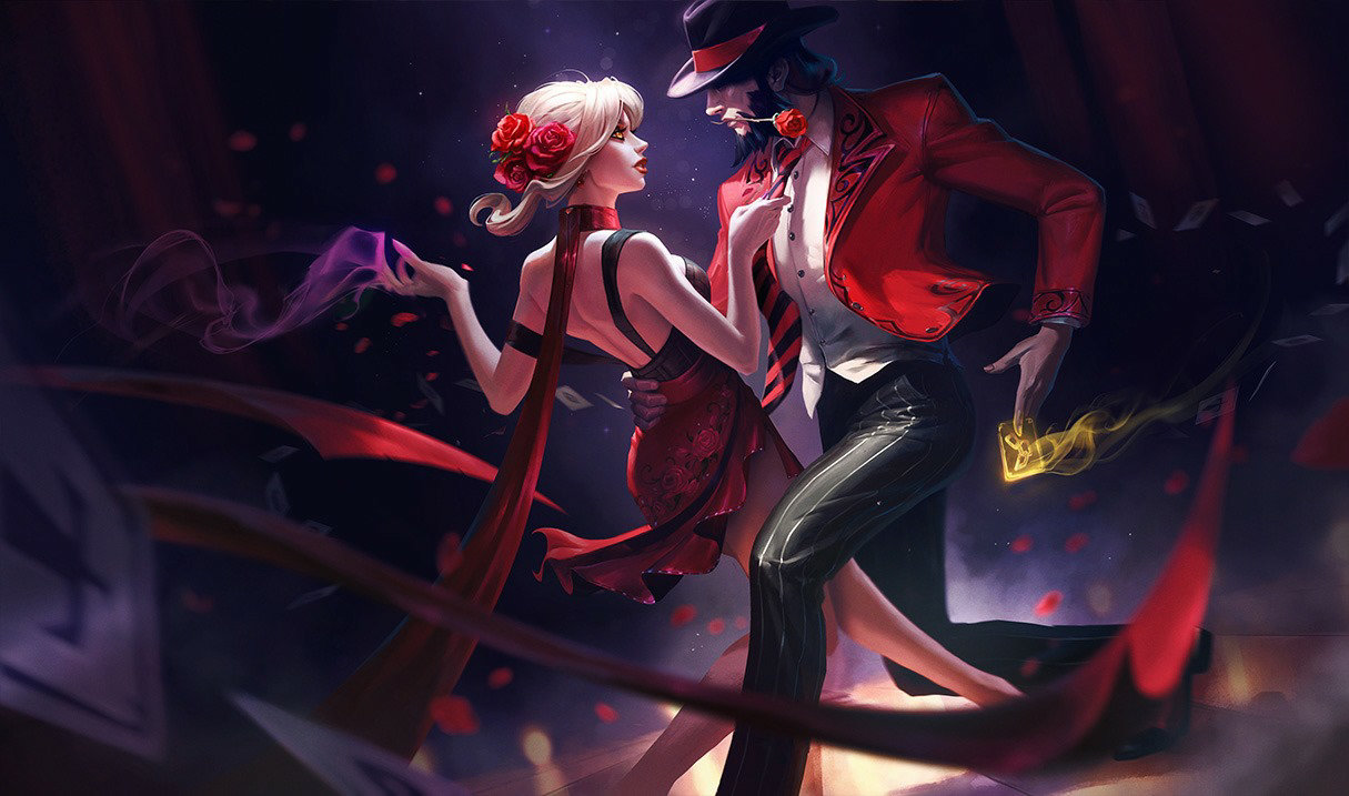 Twisted Fate Tanguero