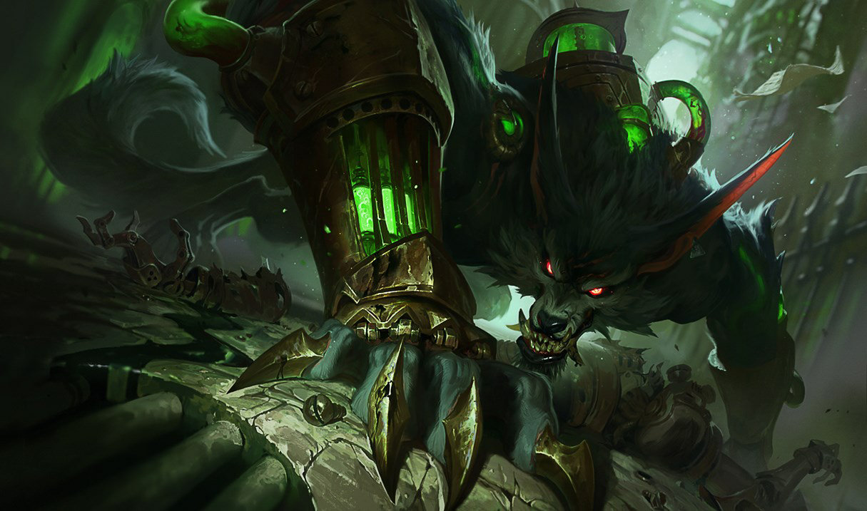 Warwick, the Uncaged Wrath of Zaun - League of Legends