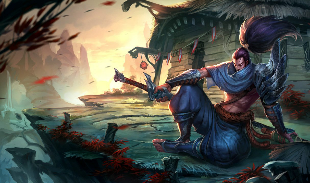 Yasuo, best mid lane champion