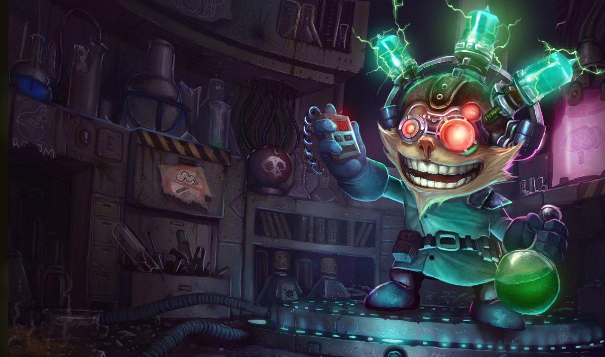 Mad Scientist Ziggs